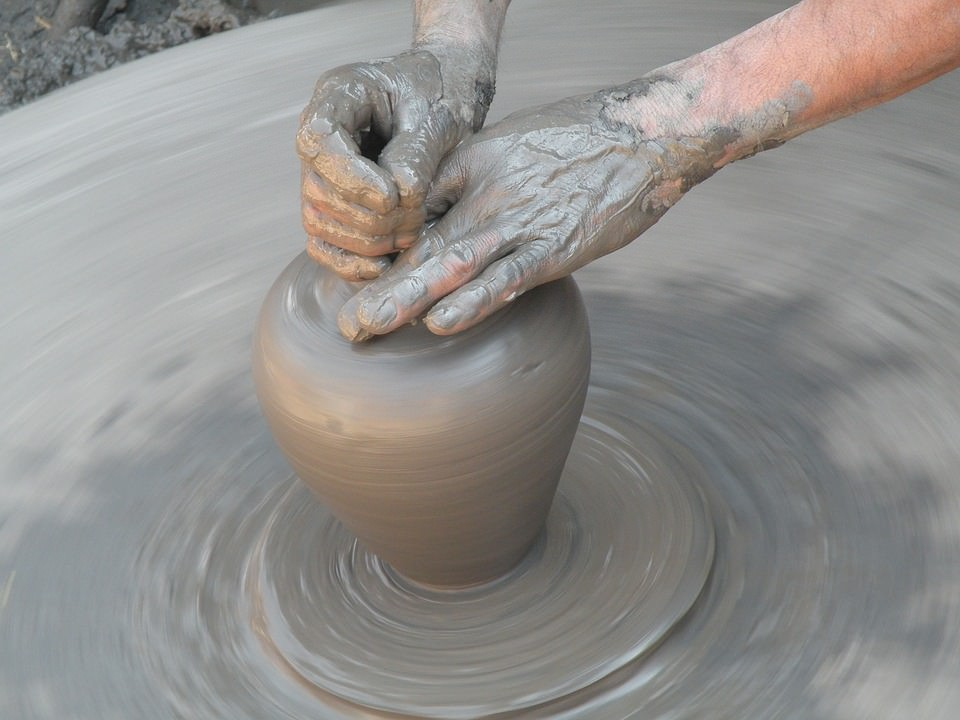 spinning-pottery