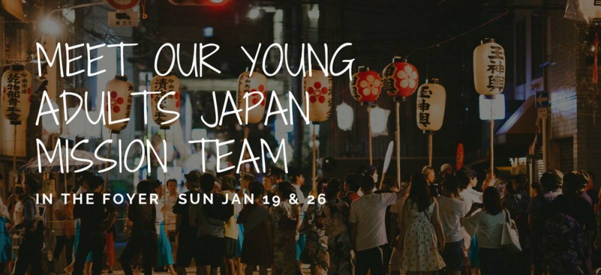 Meet Our Young Adult Osaka Mission Team