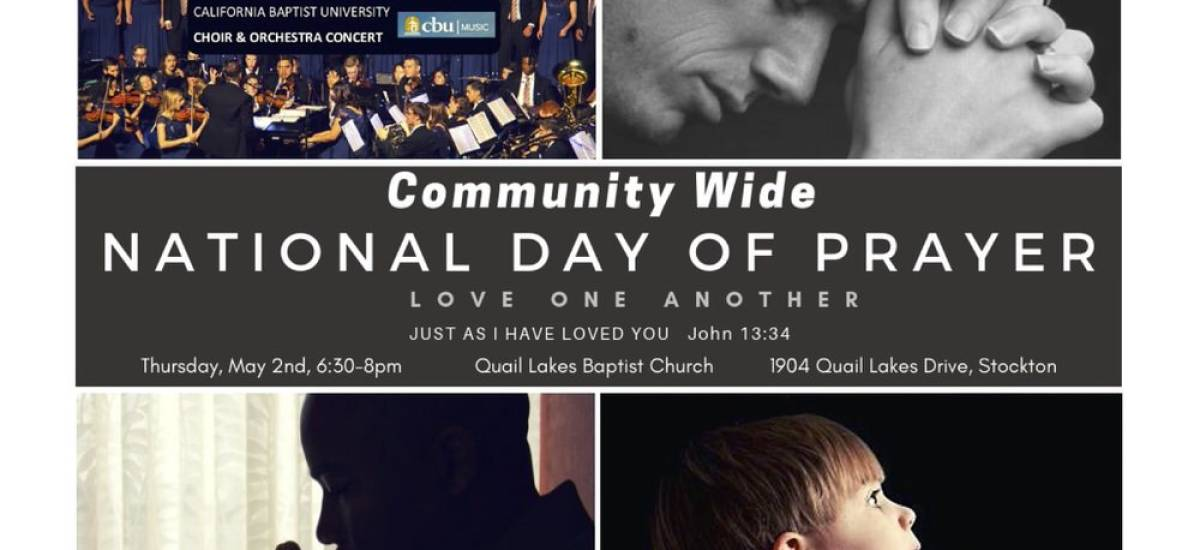 Community Wide National Day of Prayer