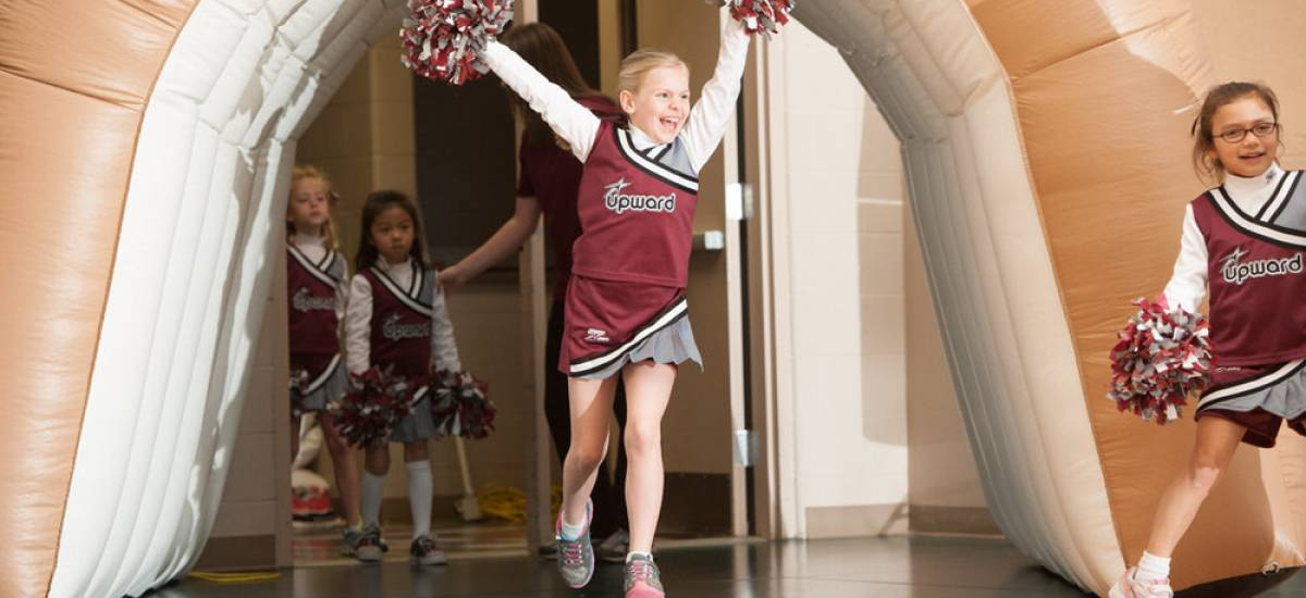 Upward Basketball & Cheerleading Registrations