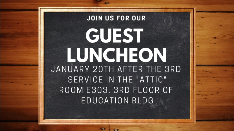 Guest Luncheon