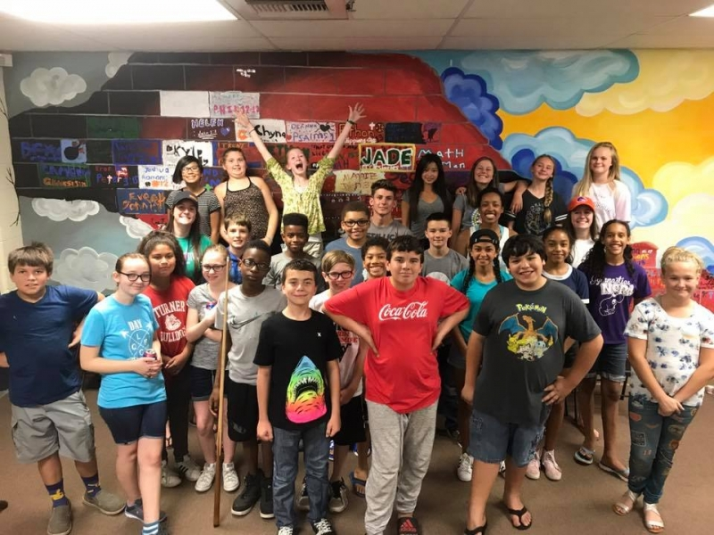Jr. High Pizza & Painting Party