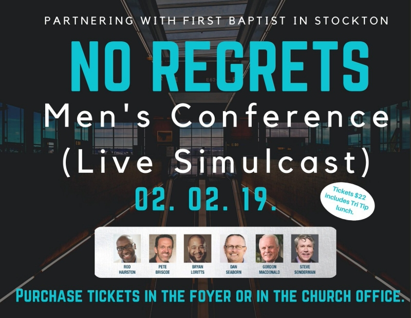 No Regrets - Men's Conference (Live Simulcast)